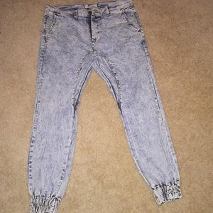 Other - Denim joggers
